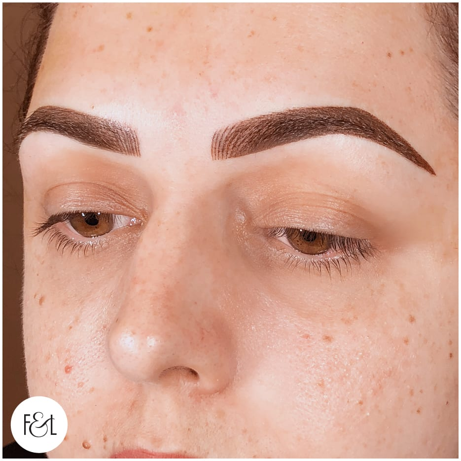 12 month refresh brows cosmetic tattoo